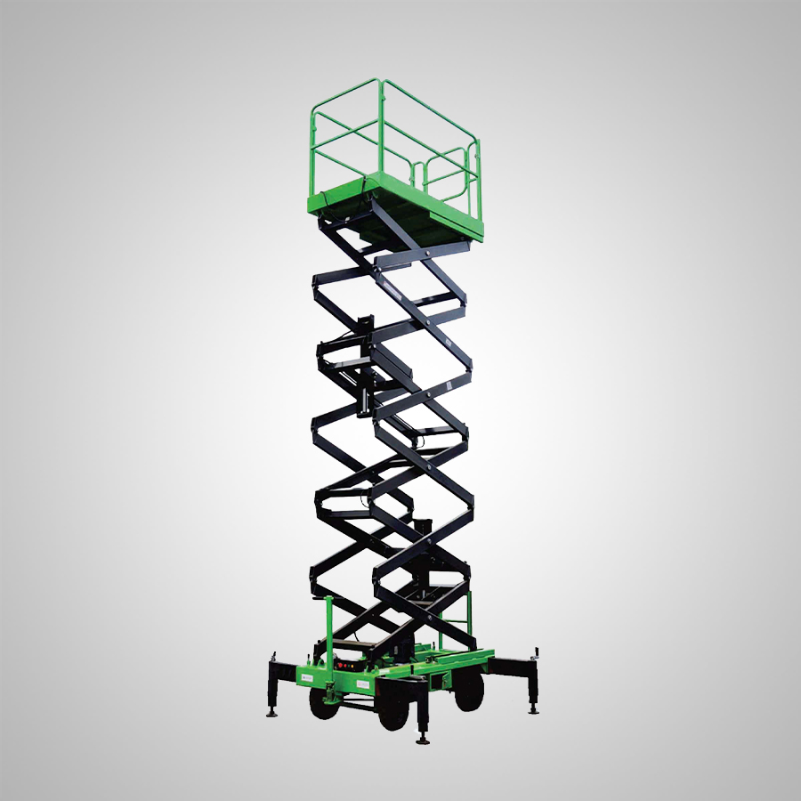 Push Around Scissor Lift by mtandt rostrum